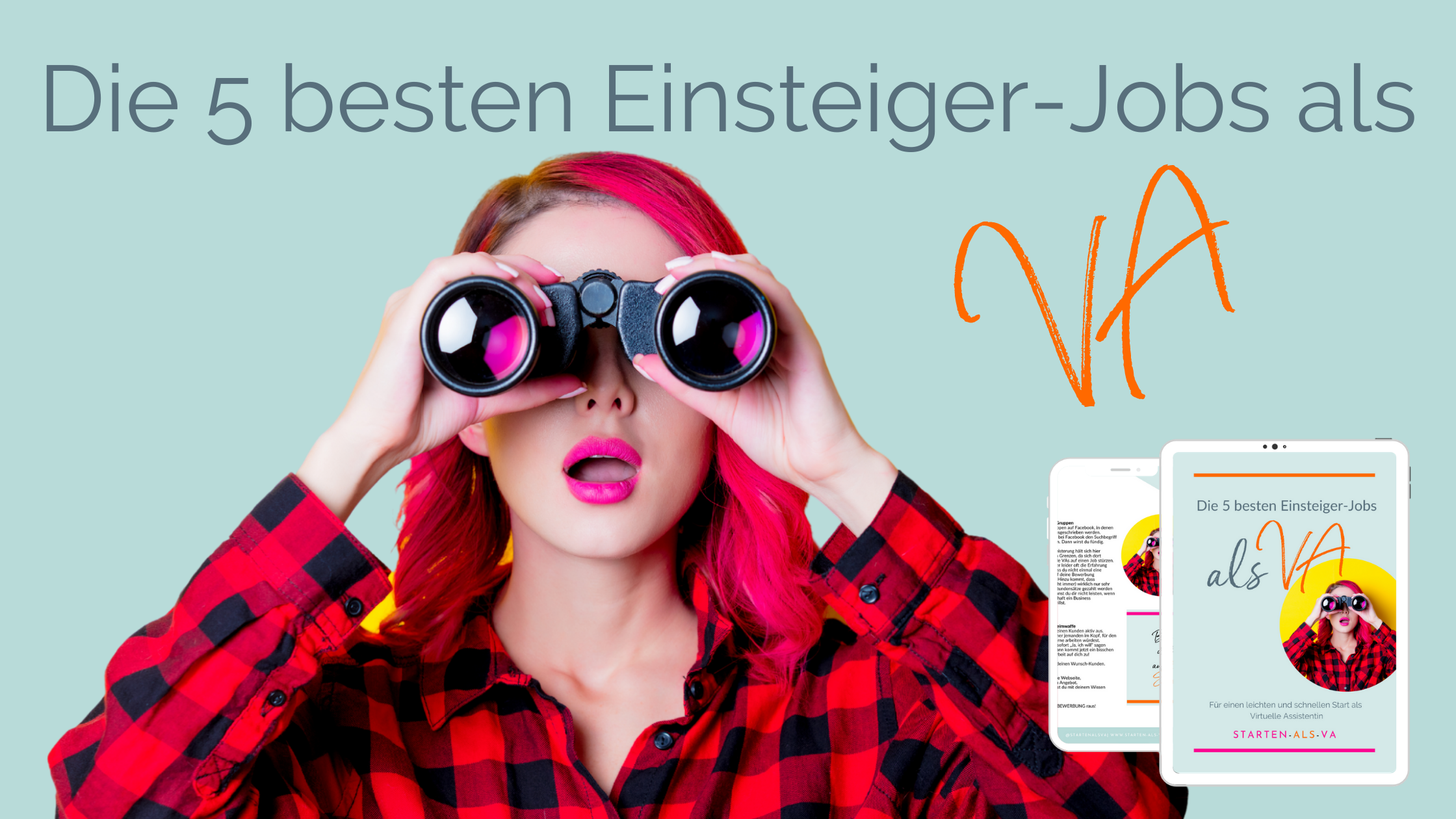 Die 5 besten Einsteiger-Jobs als Virtuelle Assistenz